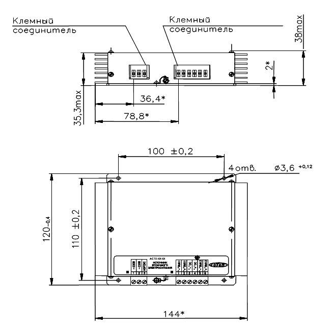 АC/DC-преобразователи серии IС50